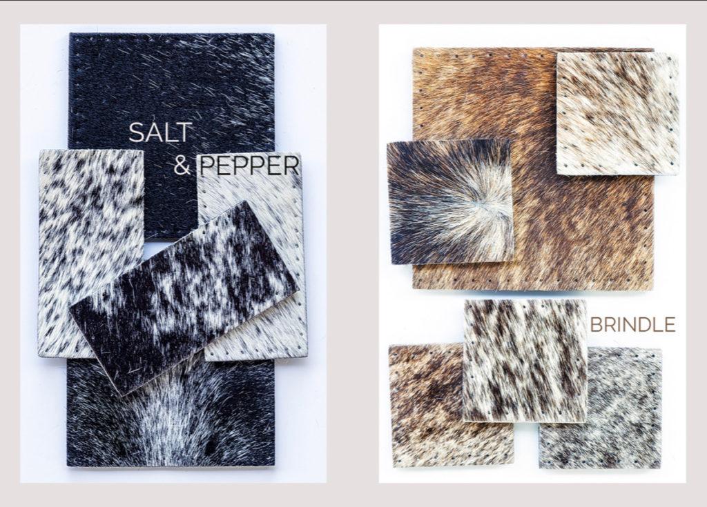 Inkomo cowhide rugs colourways mood board