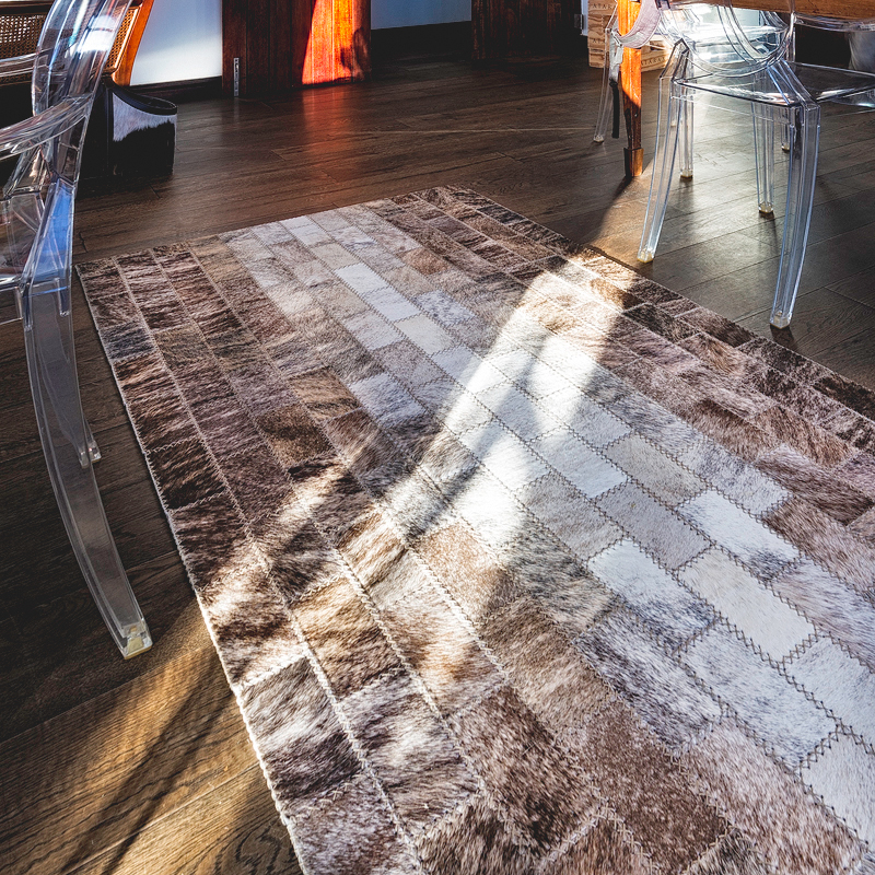 Leather rugs South Africa by Inkomo Products