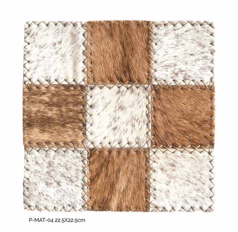 Inkomo Products: cowhide place mats